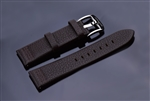 Leather Strap 22mm (Brown)