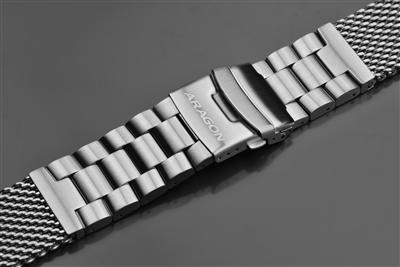 Mesh Bracelet Brushed 22mm