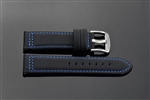 "PU Strap 22mm Fit up to 8"" Wrist"