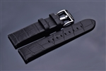 Leather Strap 22mm (Black)