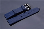 Leather Strap 22mm (Blue)
