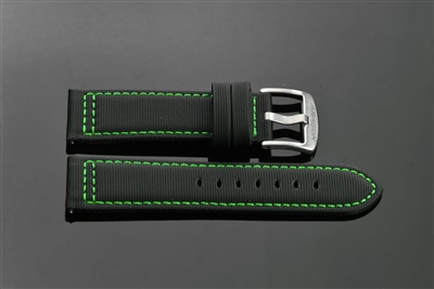 "PU Strap 24mm Fit up to 8"" Wrist"