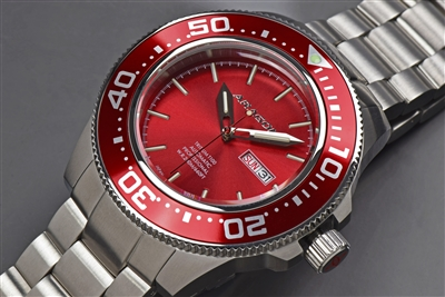 Japanese Tritium SII NH36  Automatic Watch