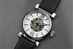 Japanese Miyota 8N24 Skeleton Automatic Watch