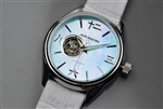 Japanese SII NH38 Open Heart Automatic Watch