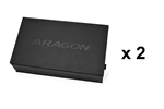 "ARAGON Collector's Watch Box x2   <inline style=""color: rgb(255,255,0);"">B2G2</inline>"